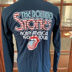 The Rolling Stones Long Sleeve Shirt